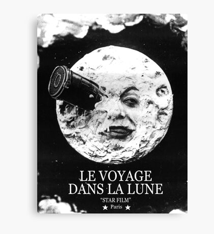 A Trip to the Moon (Le Voyage Dans La Lune)  Canvas Print