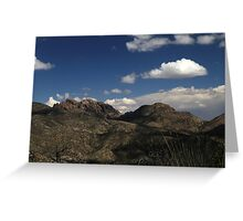 Chiricahua National Monument Landscape 3 Greeting Card