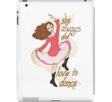River, Dancing iPad Case/Skin