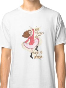 River, Dancing Classic T-Shirt