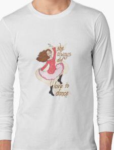 River, Dancing Long Sleeve T-Shirt