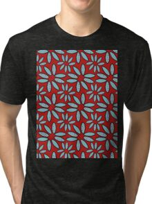 surfboard flowers Tri-blend T-Shirt