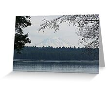 Mt. Rainier (Arcadia Point View) Greeting Card