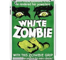 White Zombie (Vintage Movie Poster) iPad Case/Skin