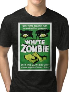 White Zombie (Vintage Movie Poster) Tri-blend T-Shirt