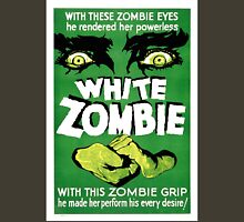 White Zombie (Vintage Movie Poster) Unisex T-Shirt