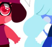 Steven Universe Chunkstar Sticker - Ruby & Sapphire Sticker