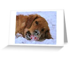 Is Your Mouth Cold? Greeting Card
