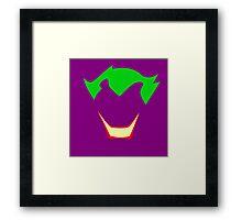 Minimalist Joker Framed Print