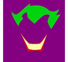 Minimalist Joker Photographic Print