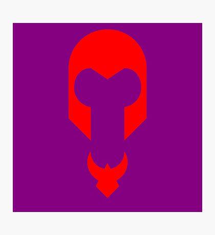 Minimalist Magneto Photographic Print