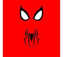Minimalist Spider-Man Photographic Print