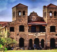 La Lomita Mission, Mission Tx by Joan  Hoffman