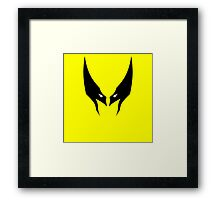Minimalist Wolverine Framed Print