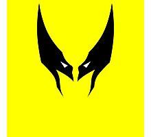Minimalist Wolverine Photographic Print