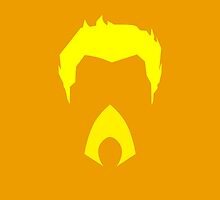 Minimalist Aquaman by Ryan Heller