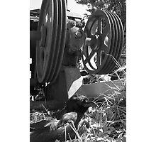 Crow Gears 1 Photographic Print