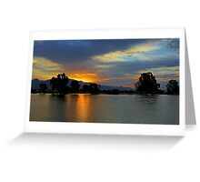 Tucson Sunrise Greeting Card