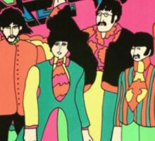 The beatles yellow submarine  Sticker