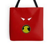 Minimalist Red Robin Tote Bag