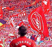 Steven Gerrard  by Niftycallum