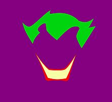 Minimalist Joker by Ryan Heller