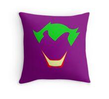 Minimalist Joker Throw Pillow