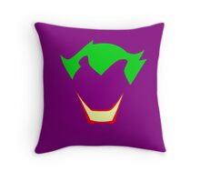 Minimalist Joker Throw Pillow