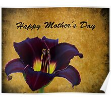 Mother's Day Lily Poster