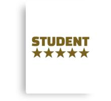 Student stars Canvas Print