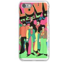 The beatles yellow submarine  iPhone Case/Skin