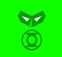Minimalist Hal Jordan by Ryan Heller