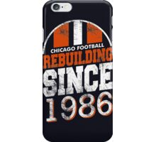 Chicago Football Rebuilding iPhone Case/Skin