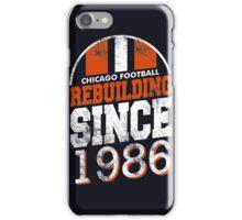 Chicago Football Rebuilding iPhone Case/Skin