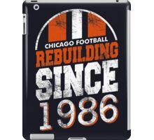 Chicago Football Rebuilding iPad Case/Skin