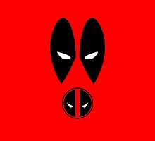 Minimalist Deadpool by Ryan Heller