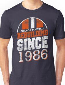 Chicago Football Rebuilding Unisex T-Shirt