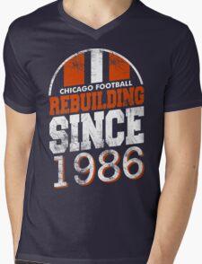 Chicago Football Rebuilding Mens V-Neck T-Shirt