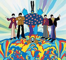 The beatles yellow submarine  by palemaid