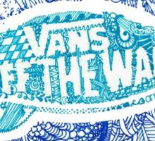 Vans Surf logo Sticker