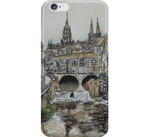 Bayeux (in coffee) iPhone Case/Skin