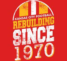 Kansas City Football Rebuilding Unisex T-Shirt