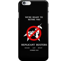 Blade Runner Ghostbuster spoof iPhone Case/Skin