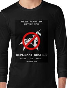 Blade Runner Ghostbuster spoof Long Sleeve T-Shirt