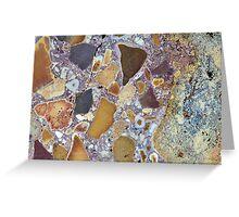 Laterite Rock Greeting Card