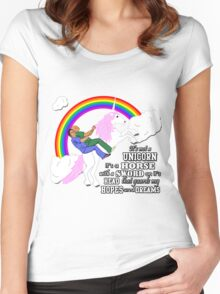 Turkicorn Women's Fitted Scoop T-Shirt