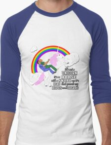 Turkicorn Men's Baseball ¾ T-Shirt