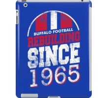 Buffalo Football Rebuilding iPad Case/Skin