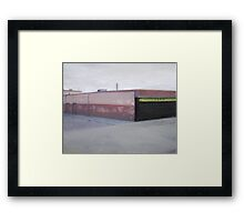 The Take Away Framed Print