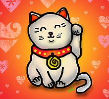 Lucky Cat by Misty Coss